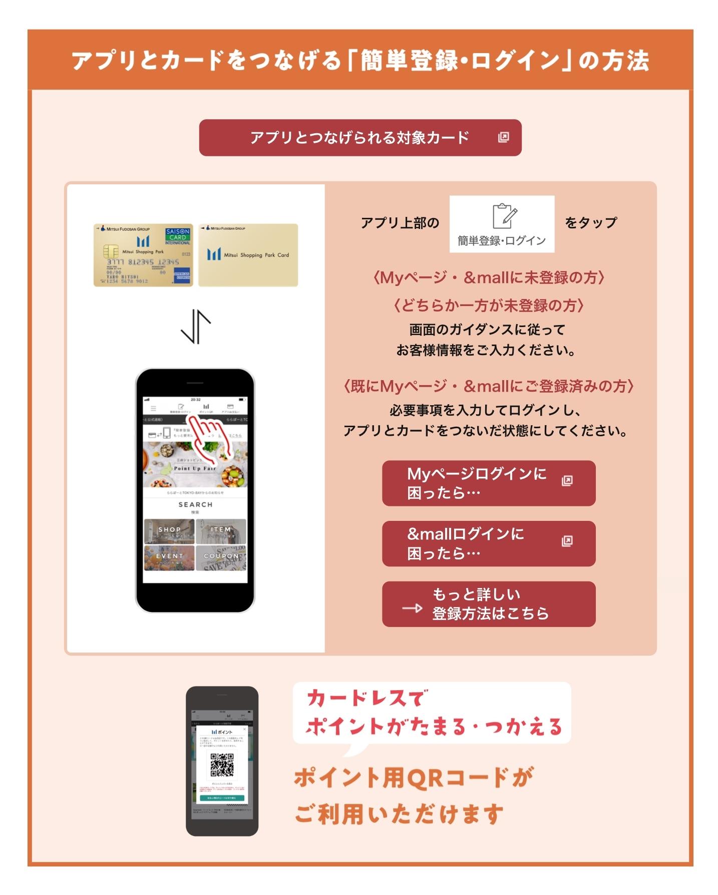 ショッピング パーク アプリ 三井